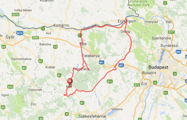 csákvár térkép I. Vértes + Gerecse Maraton csákvár térkép